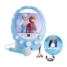 Disney's Frozen karaoke machine